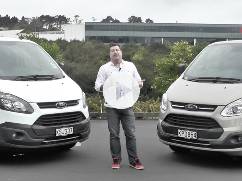 We video test the 2018 Ford Transit Custom van range, the Transit Custom van and the Tourneo Custom